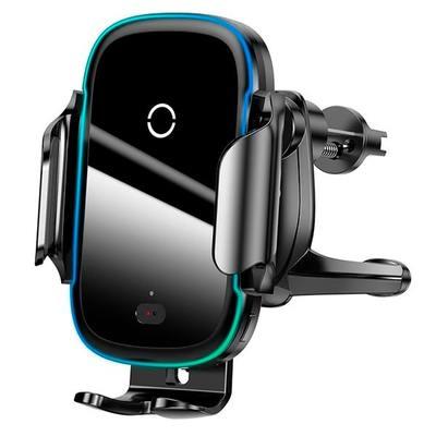Автодержатель Baseus Light Electric Holder Wireless Charger