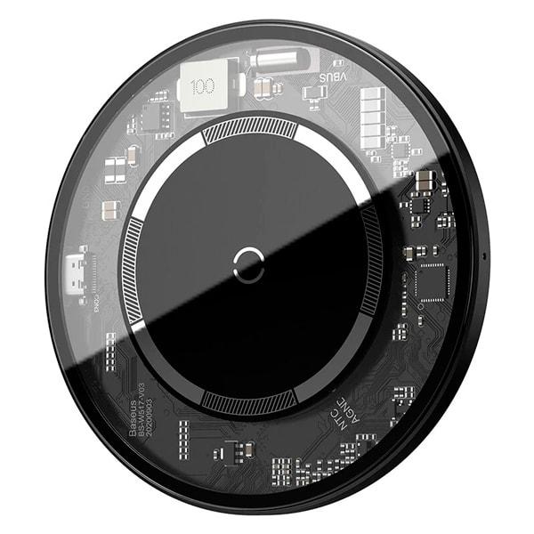 Беспроводное зарядное Baseus Simple Magnetic Wireless Charger