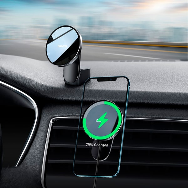 Автомобильный держатель Baseus Big Energy Car Mount Wireless Charger