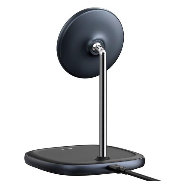 Магнитная зарядка Baseus Swan Magnetic Desktop Bracket Wireless Charger