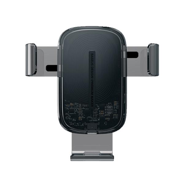 Автомобильный держатель Baseus Explore Wireless Charger Gravity Car Mount 15W
