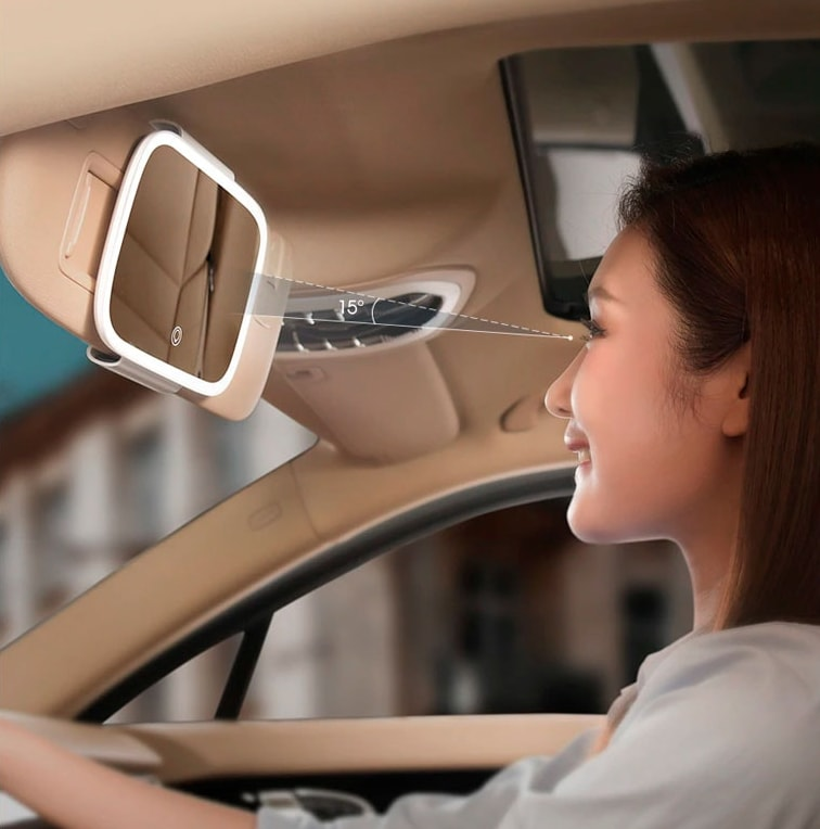 Baseus Delicate Queen Car Touch-up Mirror