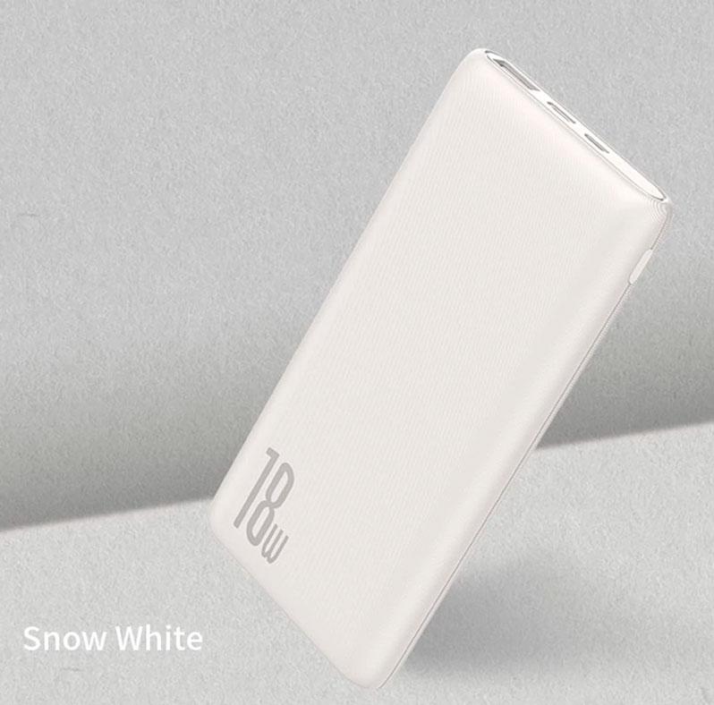 в белом