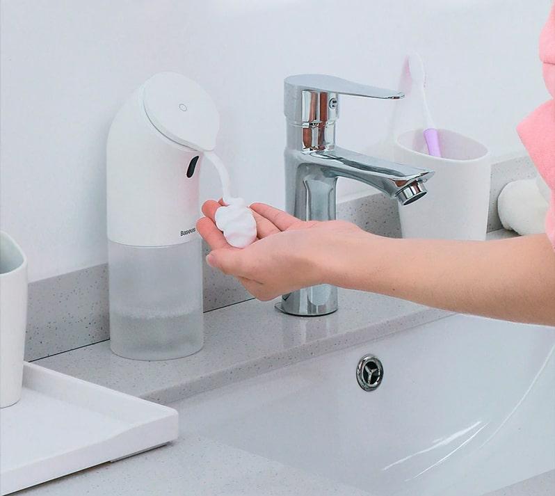 Дозатор для жидкого мыла Baseus Minipeng hand washing machine купить в  Минске