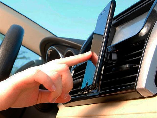Автомобильный держатель Baseus Privity Series Pro Air Outlet Magnet Bracket